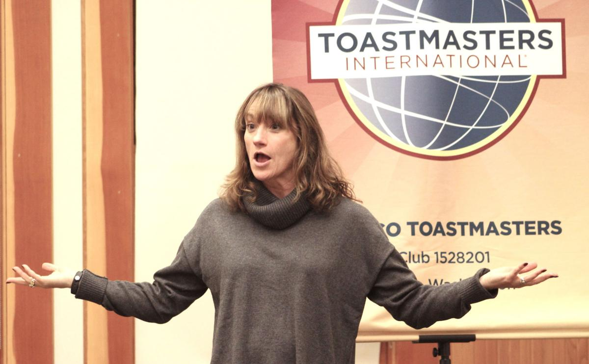 Toastmasters want recruits to pop up