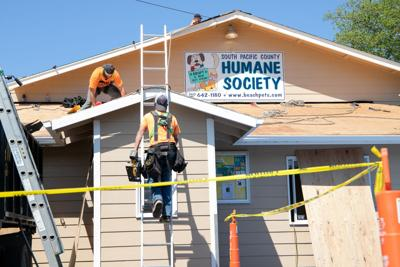 South Pacific County Humane Society roof