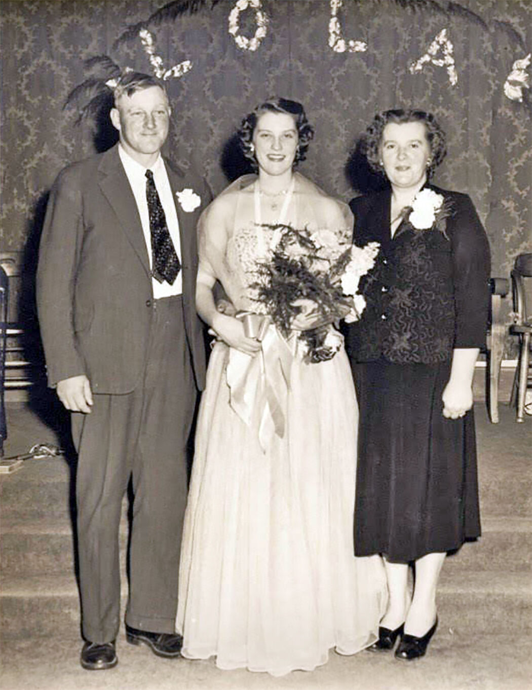 Otto and Margaret Hill with their daughter Lola