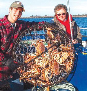 Fish & Feathers: If you're crabbing, make sure it's legal