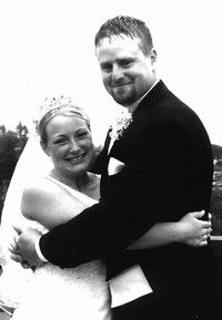 Just Married: Faith Ward and Gary Baker Wed