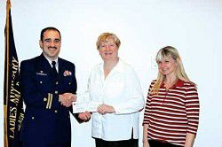Local Coast Guard helps Boys & Girls Club