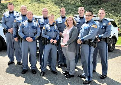 Naselle State Patrol detachment honored