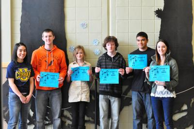 Ilwaco Middle/High School honors students of the month