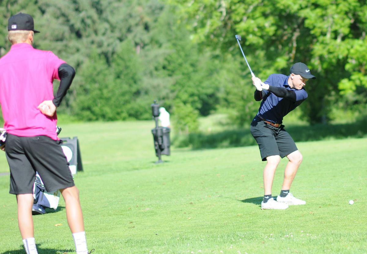 Blake Kukula swings