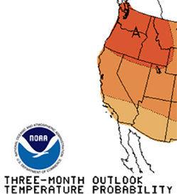 Northwest best bet for warm winter in lower 48