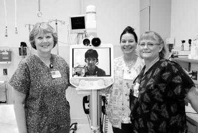 Telemedicine robot comes to Ilwaco hospital