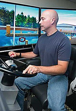 Lifeboat skills honed by new simulator tool