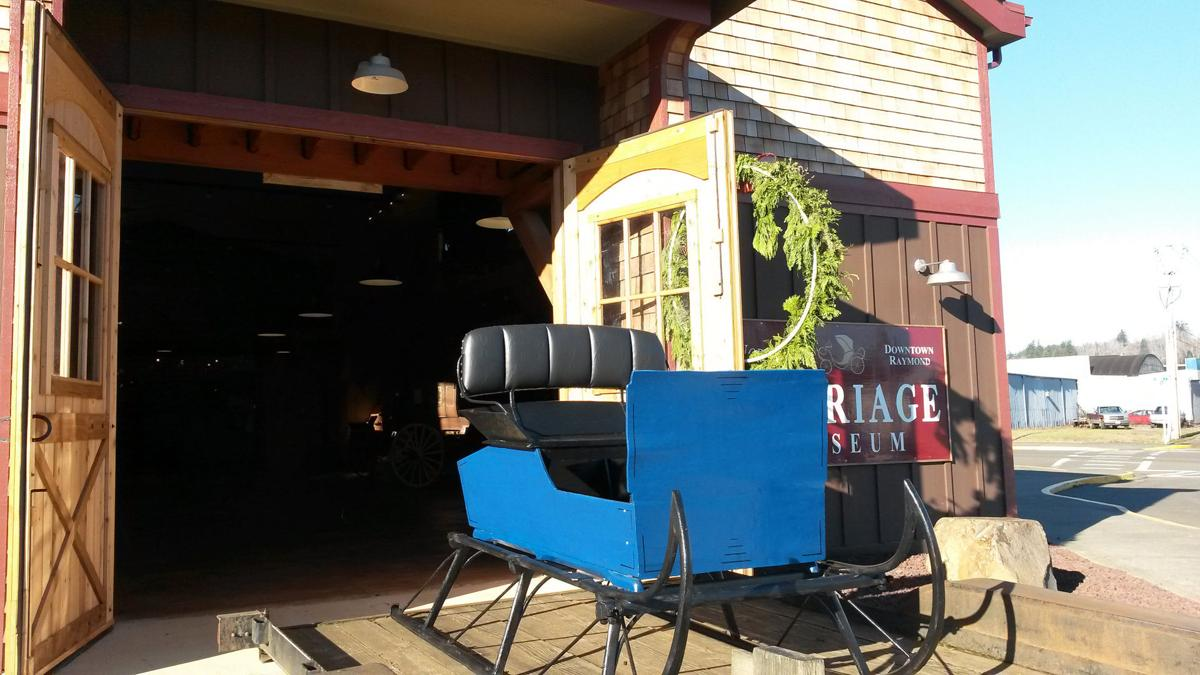 1886 Fisher box sleigh brought back to life by Raymond museum