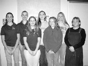 NHS players honored for volleyball excellence