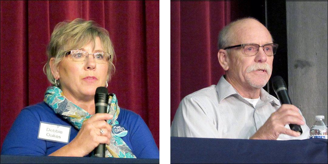 PUD commissioner candidates address voter concerns