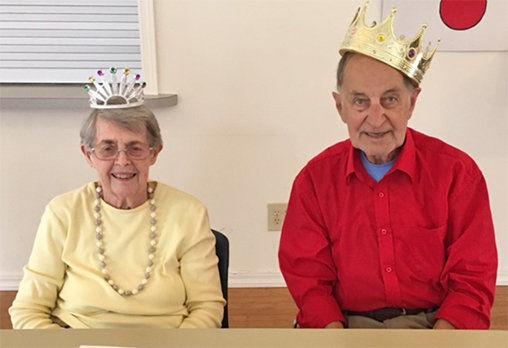 Senior center celebrates birthdays