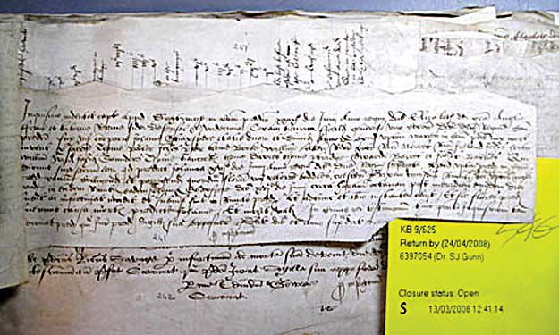 Editor's Notebook: Grim reaping in Tudor times and ours