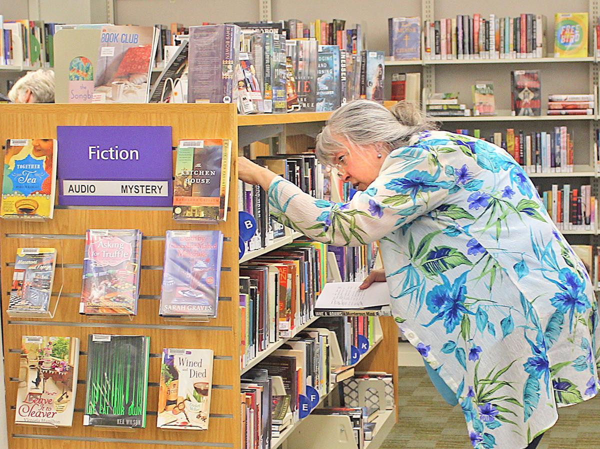 Library Director Susan Carney