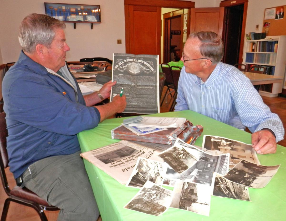 Masons' cache from Raymond is a trip back in time