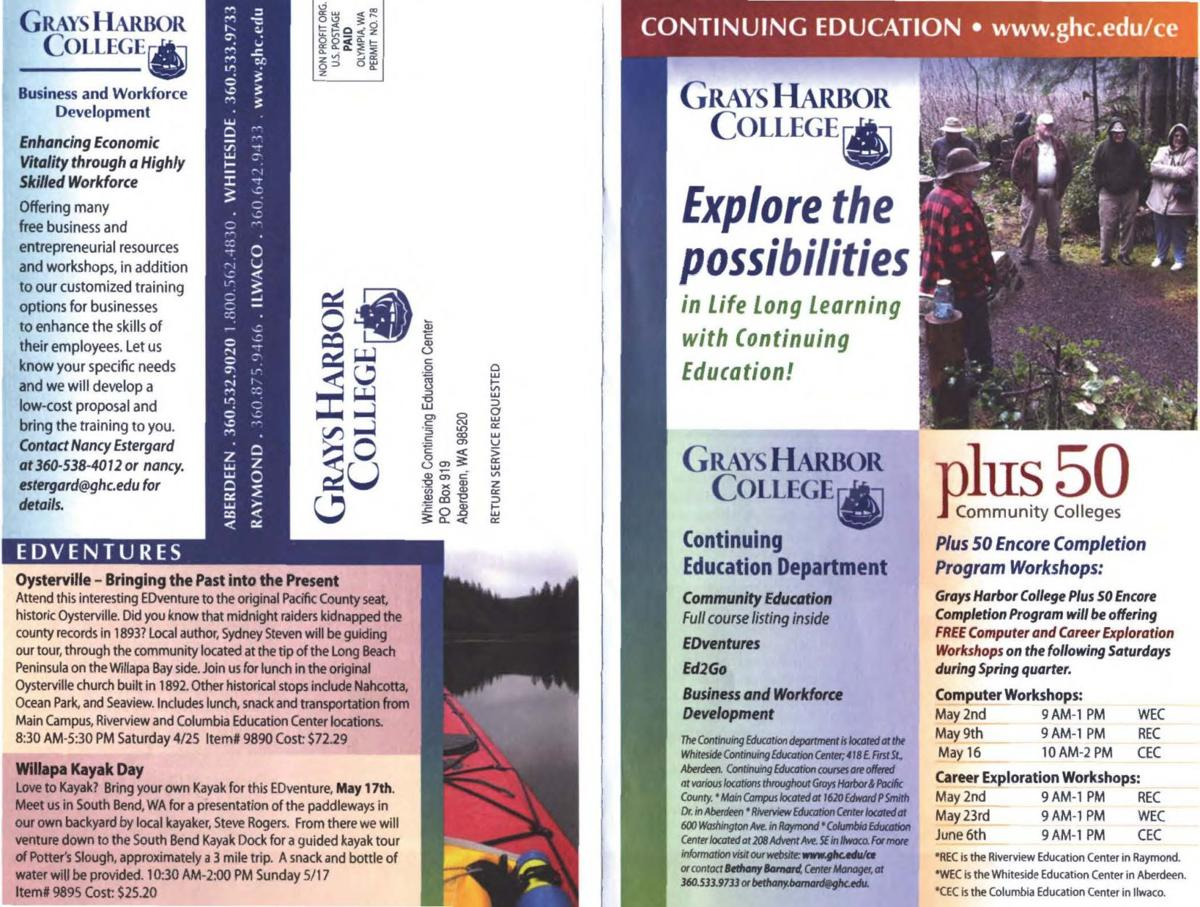 Check out these interesting offerings from Grays Harbor