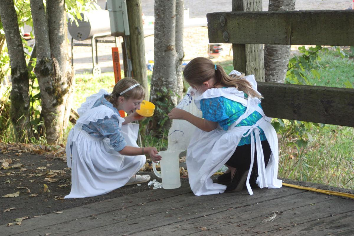 Grays River, bright spirits: A sense of community in a covered bridge