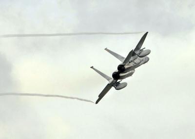 National Guard jet
