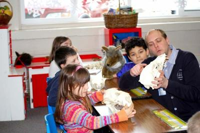 First-graders learn about wildlife