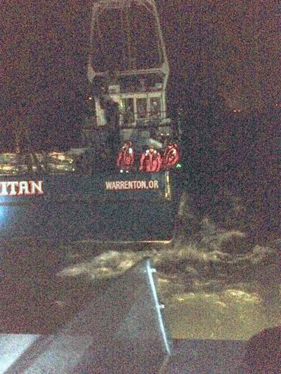 Crab boat sits on bottom: 'Unrecoverable'