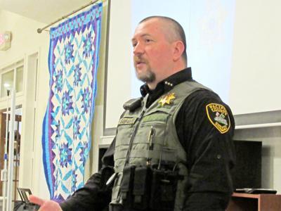 Pacific County Sheriff Robin Souvenir