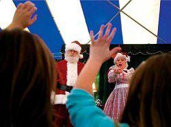 Santa brings start of holiday season to Peninsula
