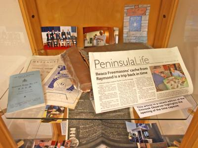See Masons time capsule contents at library