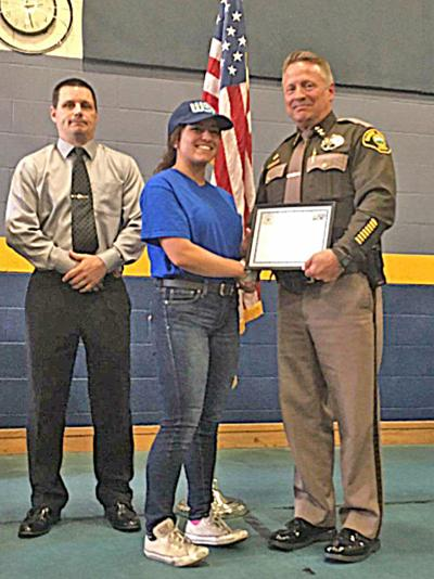 IHS student completes rigorous summer 'cop camp'