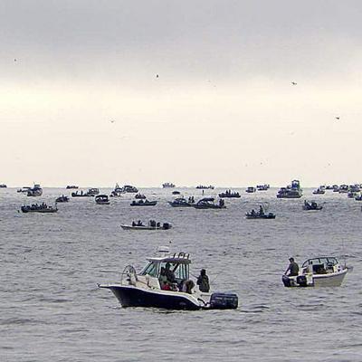 Columbia estuary fishing
