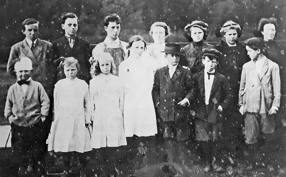 McGowan school children