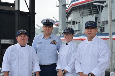 Coast Guard chefs take Galley Wars during Fleet Week
