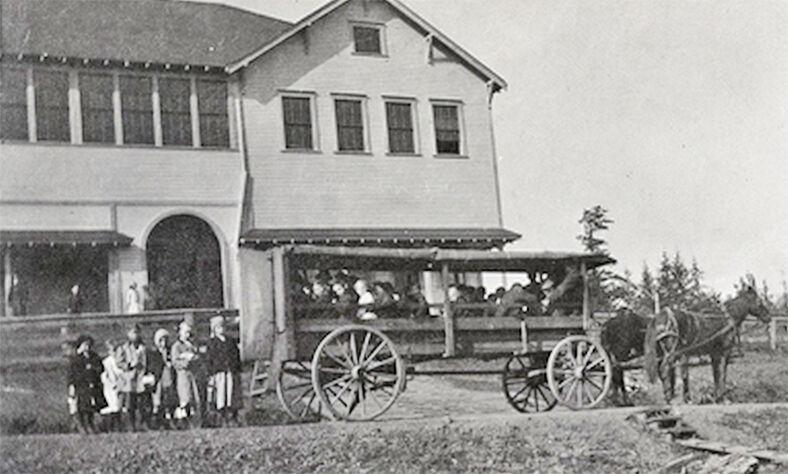 Naselle horse-drawn wagon