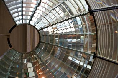Pieces of our Past - LCIC first order Fresnel lens