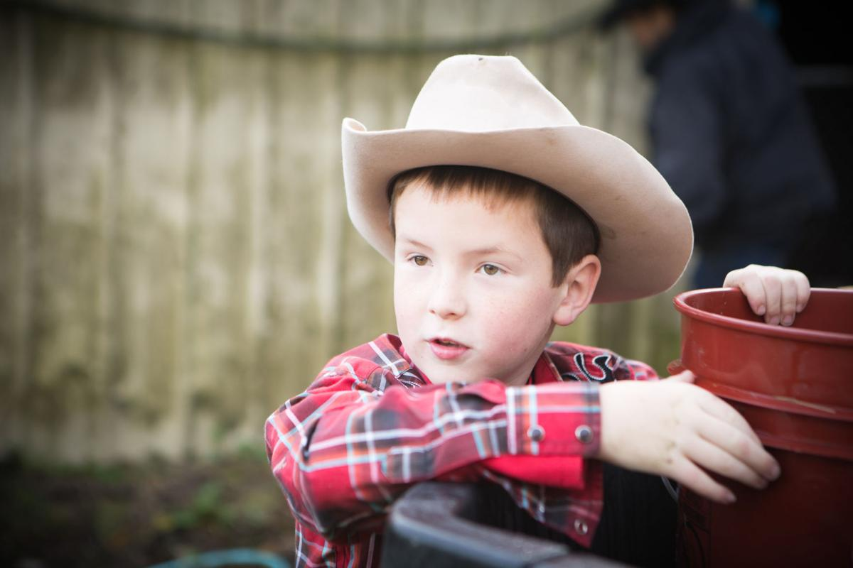 Young proprietor Peyton Haskin