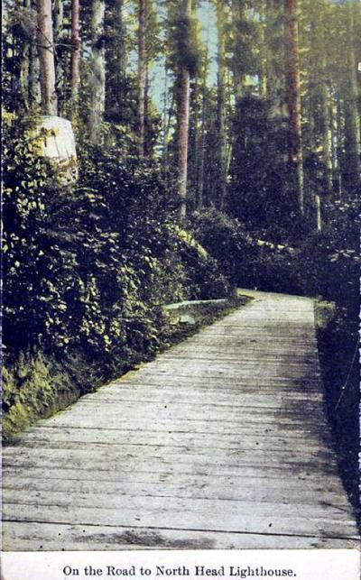 North Head plank road