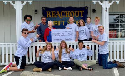 Reachout Ministries donated to make Dunes Bible Camp possible