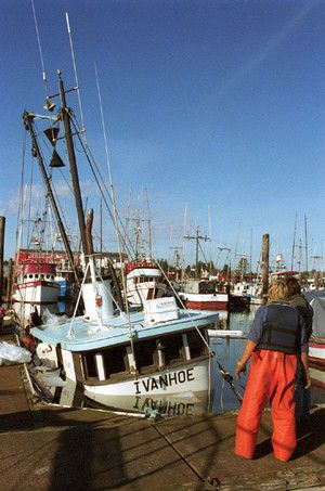 Ivanhoe takes a dip in the Ilwaco mooring basin