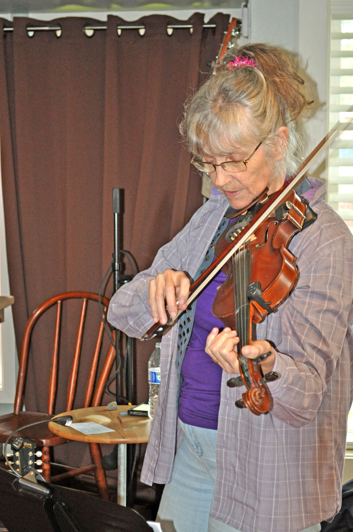 'This is not Julliard'  Janet Clark's music class is about learning and having fun