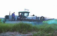 It almost went smoothly: Optimism prevails over sprayer's mechanical problems