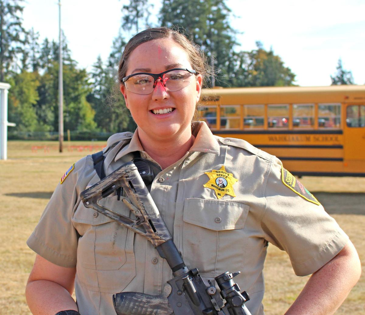 Wahkiakum High School hosts intense 'active shooter exercise