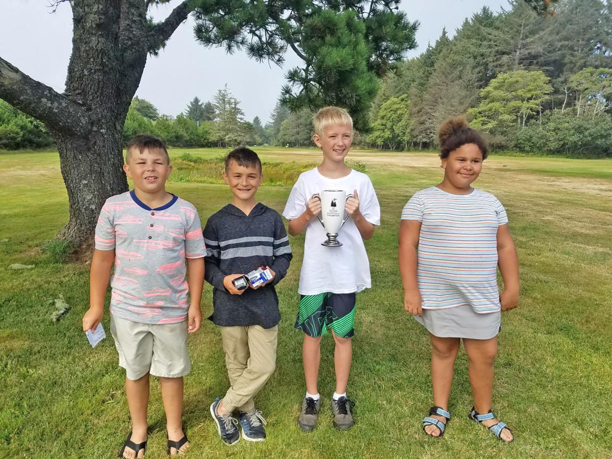 Youth golf winners