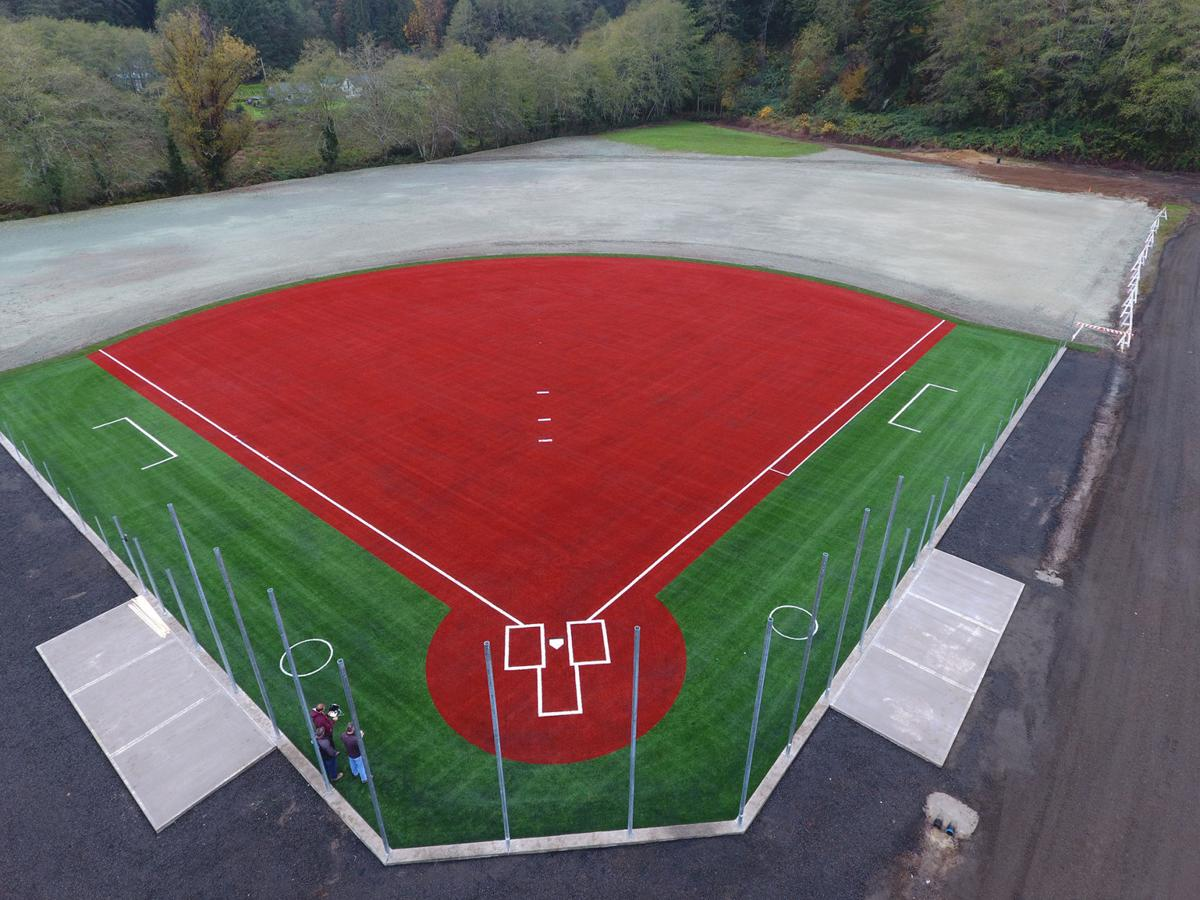 Safe at home:  South Bend High School to debut new turf baseball/softball field this spring