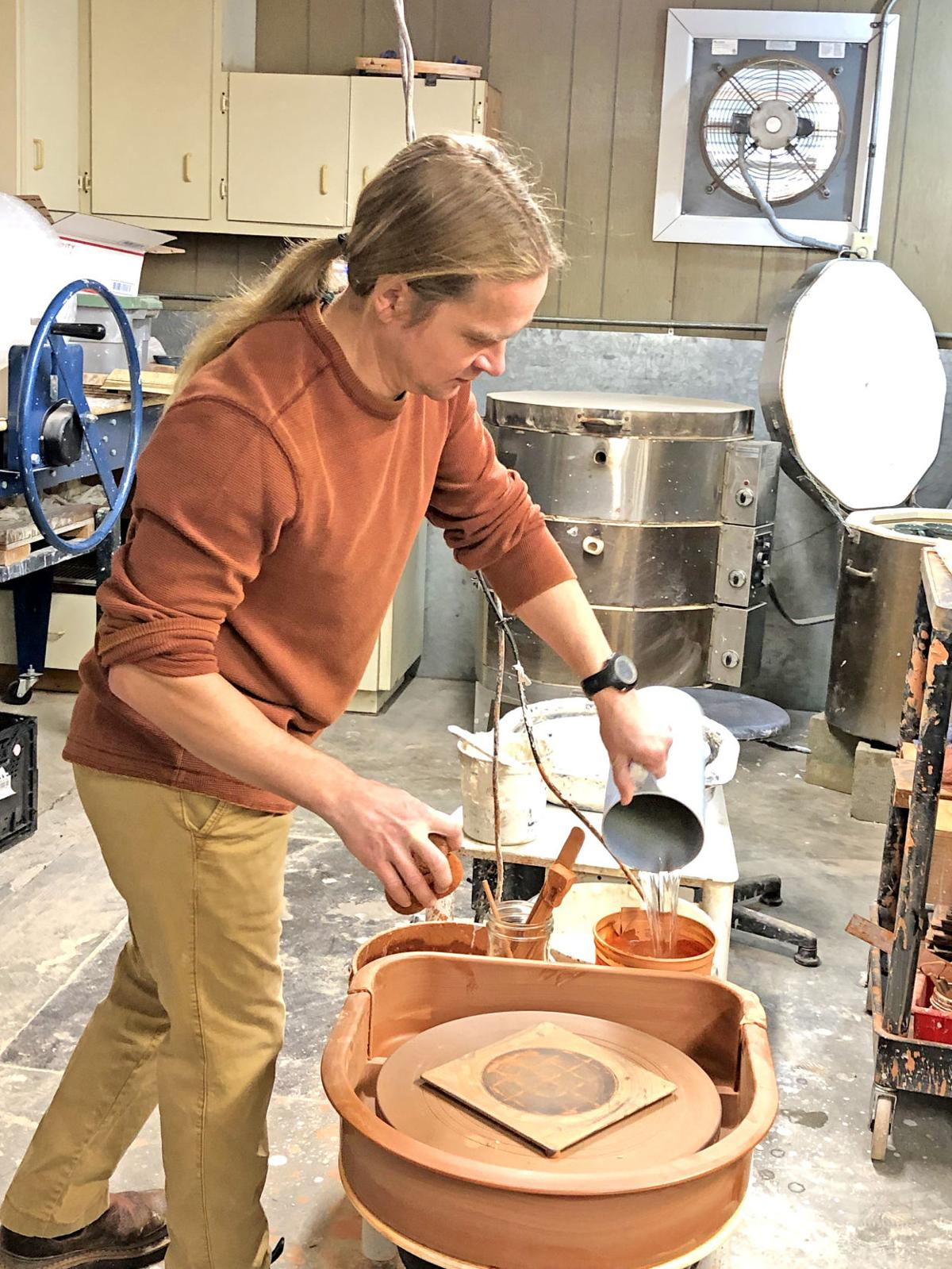 Aaron Van Ornum potter