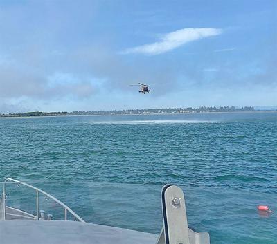 Kayaker rescued