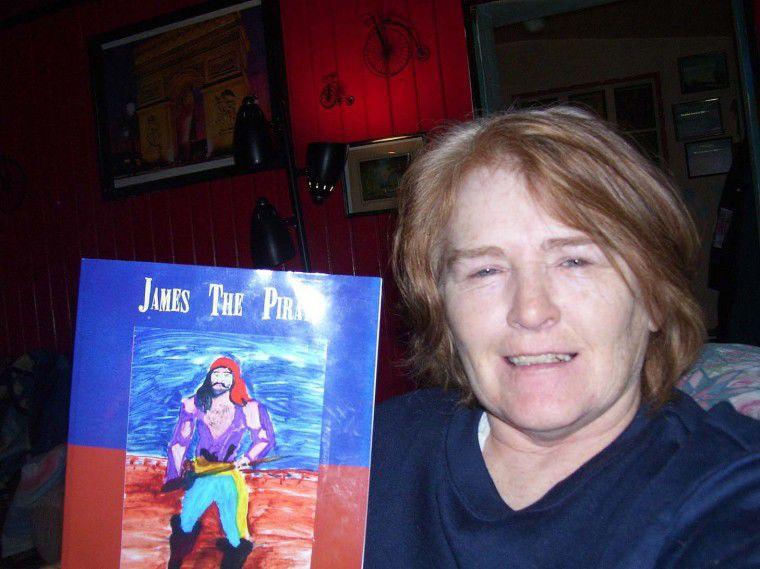 Former OP resident Sandra Wray writes children's pirate book