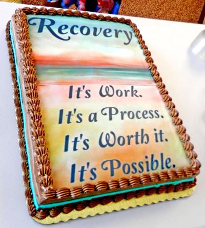 Recovery cake
