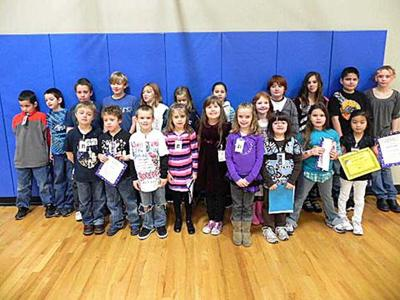 Ocean Park Elementary recognizes December 'Self Managers'
