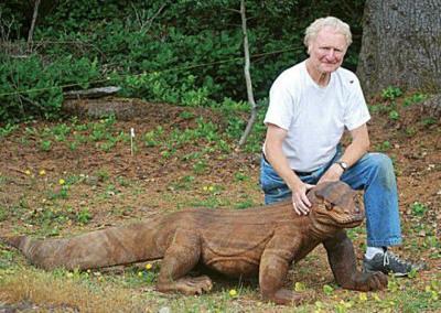 The ultimate pet: A Komodo dragon