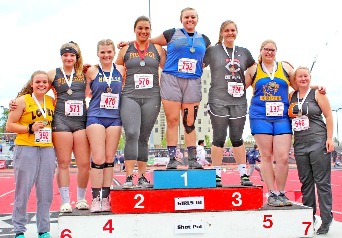 Naselle's Zimmerman fourth in state shot put