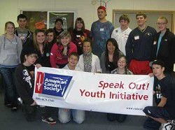 South county students learn to 'SpeakOUT' against tobacco use